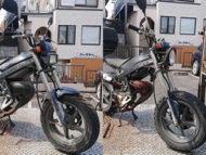 日野市日野本町で原付バイクのストリートマジック50 2台を無料引き取り処分