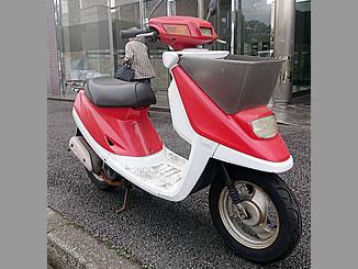横浜市磯子区久木町で無料で引き取り処分と廃車をした原付バイクのJOG ポシェ