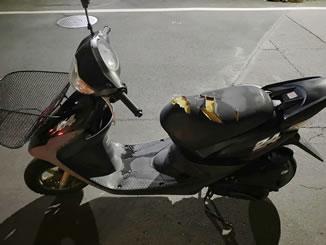 船橋市で無料で引き取り処分と廃車をした原付バイクのスマートDio Z4