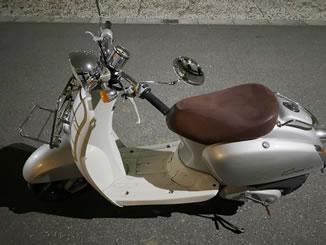 船橋市大穴南で無料で引き取り処分をした原付バイクのジョルノクレア