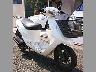 平塚市御殿で無料で引き取り処分と廃車をした原付バイクのレッツ2 L