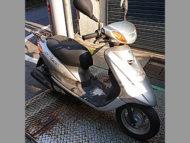渋谷区代々木で無料で引き取り処分と廃車手続き代行をした原付50ccバイクのヤマハ JOG FI