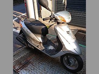 渋谷区代々木で無料で引き取り処分と廃車をした原付バイクのJOG FI