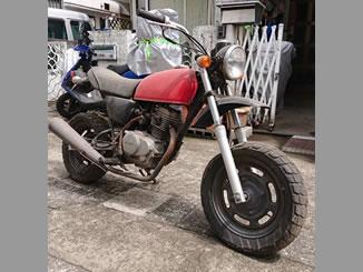 中野区南台で無料で引き取り処分と廃車をした原付バイクのエイプ50