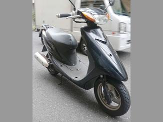 中央区日本橋人形町で無料で引き取り処分と廃車をした原付バイクのJOG Z2