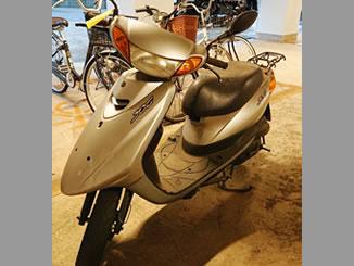 船橋市前原西で無料で引き取りをした放置バイクのJOG FI