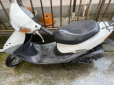 足立区柳原で原付バイクのライブDio Jを無料引き取り処分と廃車
