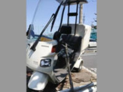 川口市西青木で原付バイクのジャイロキャノピーを無料で引き取り処分