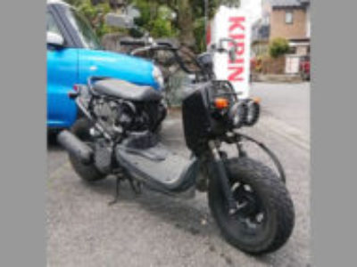 八王子市丹木町で原付バイクのズーマーを無料引き取り処分と廃車