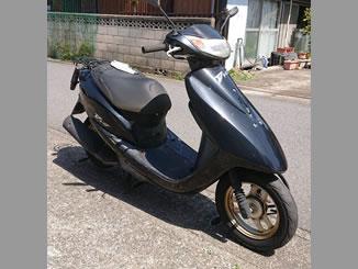 佐倉市大蛇町で無料で引き取り処分と廃車をした原付バイクのDio