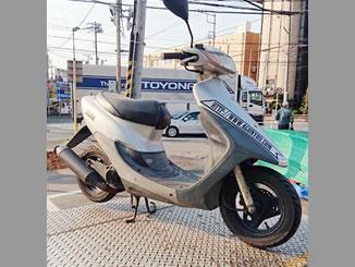 松戸市松戸新田で無料で引き取り処分と廃車をした原付バイクのライブDio