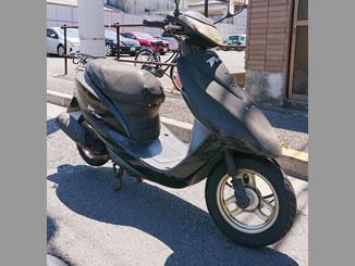 江戸川区東葛西で無料で引き取り処分と廃車手続代行原付バイクのDio/AF62