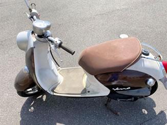 小山市東城南で無料で引き取り処分をした原付バイクのビーノ FI