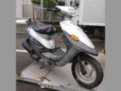 世田谷区玉堤で原付バイクのBJを無料引き取りと処分