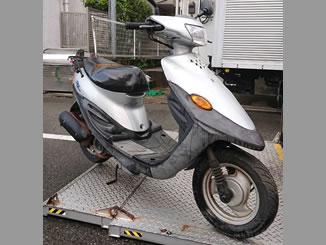 世田谷区玉堤で無料で引き取り処分と廃車をした原付バイクのBJ