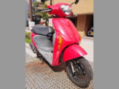 江東区亀戸2丁目で原付バイクのレッツ5Gを無料引き取りと処分