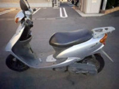 小山市犬塚で原付バイクのリモコンJOGを無料引き取り処分と廃車