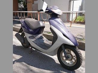 千葉市美浜区磯辺で無料で引き取り処分をした原付バイクのスマートJOG