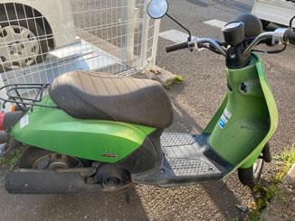 吉川市きよみ野で無料で引き取り処分と廃車をした原付バイクのトゥデイ