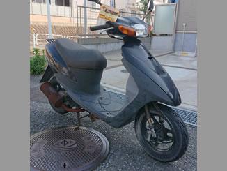 横浜市港南区港南台で無料で引き取り処分をした原付バイクのレッツ2
