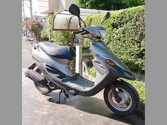 大和市代官で無料で引き取り処分と廃車をした原付バイクのBJ