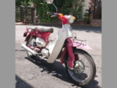 調布市若葉町で原付バイクのリトルカブを無料で引き取り処分