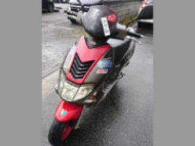 川口市青木で原付バイクのスーパー9Sを無料で引き取り処分