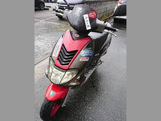 川口市青木で無料で無料で引き取り処分と廃車をした原付バイクのスーパー9S