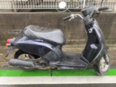 草加市草加で原付バイクのトゥデイを無料で引き取り処分と廃車