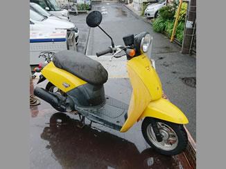 大野台(相模原市南区)で無料で引き取り処分と廃車をした原付バイクの初代トゥデイ