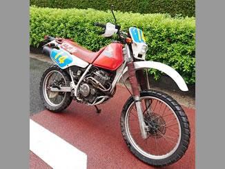 江東区住吉で無料で引き取り処分と廃車をした250ccバイクのXLR250R