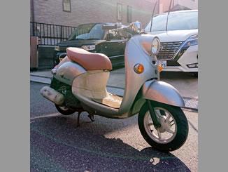 千葉市花見川区畑町で無料で引き取り処分と廃車をした原付バイクのビーノ DX