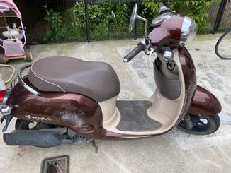 さいたま市緑区東浦和で無料で引き取り処分と廃車をした原付バイクのジョルノ FI