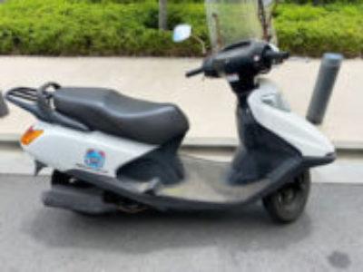 小平市花小金井南町で原付バイクのスペイシー100を無料引き取り処分と廃車