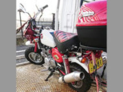 高崎市中居町で原付バイクのモンキーを無料引き取り処分と廃車