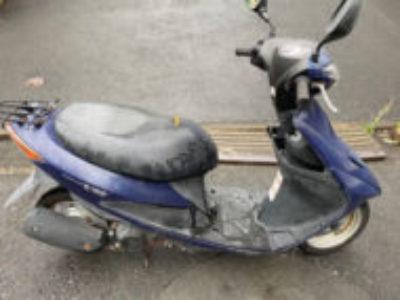 杉並区下高井戸で原付バイクのアドレスV50を無料引き取り処分と廃車