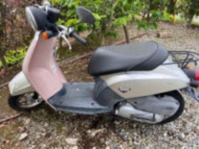 つくば市苅間で原付バイクのトゥデイを無料で引き取り処分