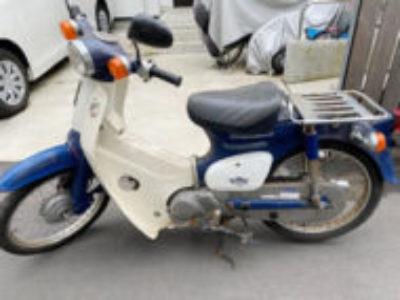 藤沢市片瀬海岸で原付バイクのスーパーカブ50を無料で引き取り処分