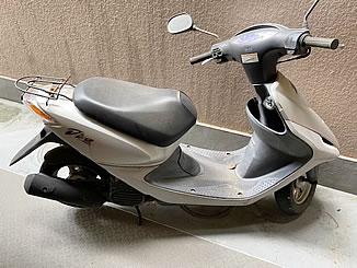 中野区大和町で無料で引き取り処分と廃車をした原付バイクのホンダ スマートDio