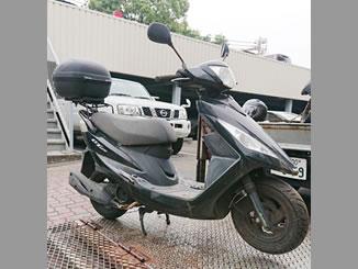 平塚市菫平で無料で引き取り処分と廃車をした原付バイクのSYM GT125