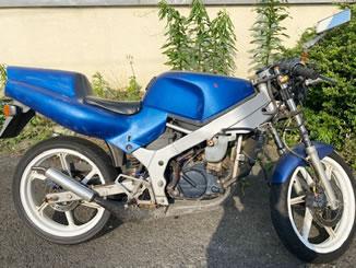 壬生町壬生丁で無料で引き取り処分と廃車をした原付バイクのホンダ NS-1