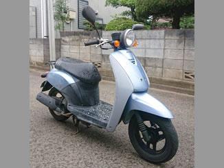 さいたま市中央区桜丘で無料で引き取り処分と廃車をした原付バイクのホンダ トゥデイ
