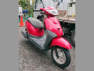川崎市中原区下小田中で無料で引き取り処分と廃車をした原付バイクのホンダ タクト ベーシック