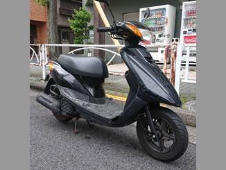 墨田区江東橋で無料で引き取り処分と廃車をした原付バイクのヤマハ JOG DX