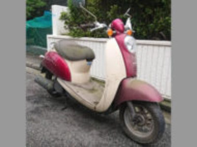 横浜市青葉区たちばな台で原付バイクのクレアスクーピーを無料引き取り処分と廃車