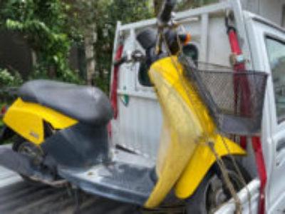 練馬区氷川台で原付バイクのホンダ トゥデイを無料引き取り処分と廃車