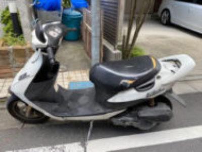 台東区上野桜木で原付バイクのスズキ ZZを無料引き取りと処分