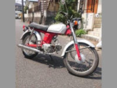 松戸市胡録台で原付バイクのホンダ ベンリィ50Sを無料引き取りと処分