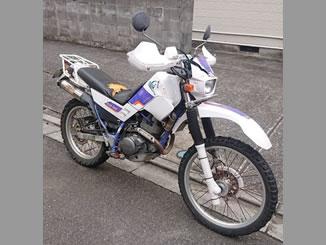 市川市田尻で無料で引き取り処分と廃車をした225ccバイクのヤマハ セロー225W