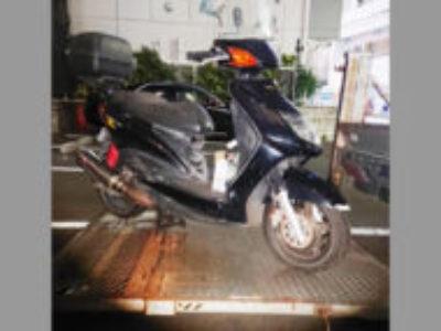 豊島区池袋本町で原付バイクのヤマハ シグナスXを無料引き取り処分と廃車
